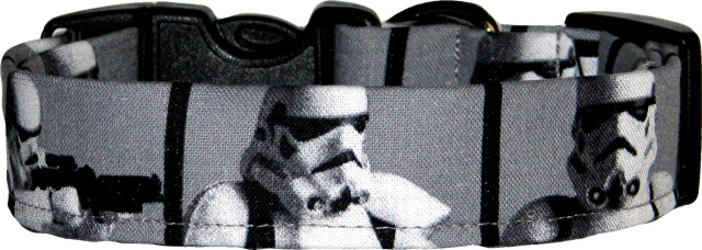 Stars Wars Storm Troopers Dog Collar
